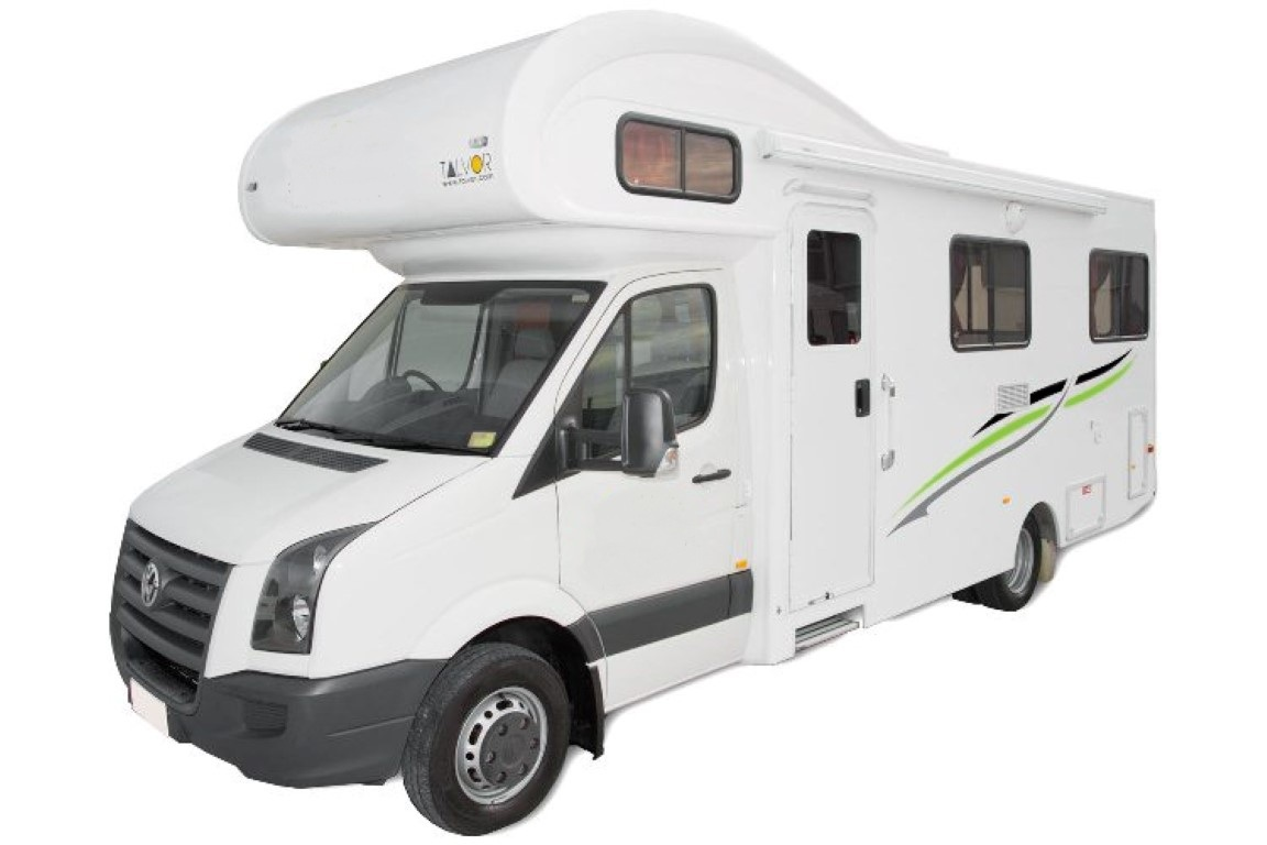 Cheap Auto Rentals >> 6 Berth Motorhome with Toilet and Shower