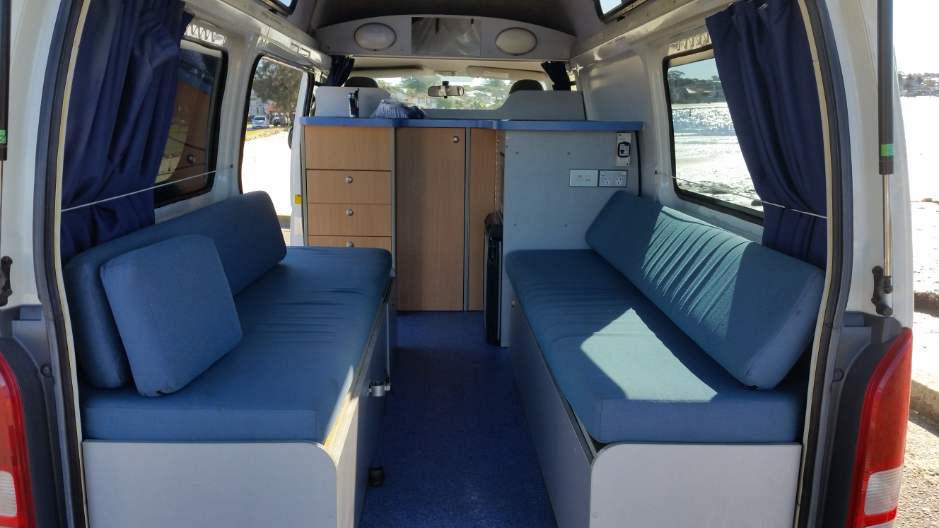 2 3 Person Hitop Campervan Hire