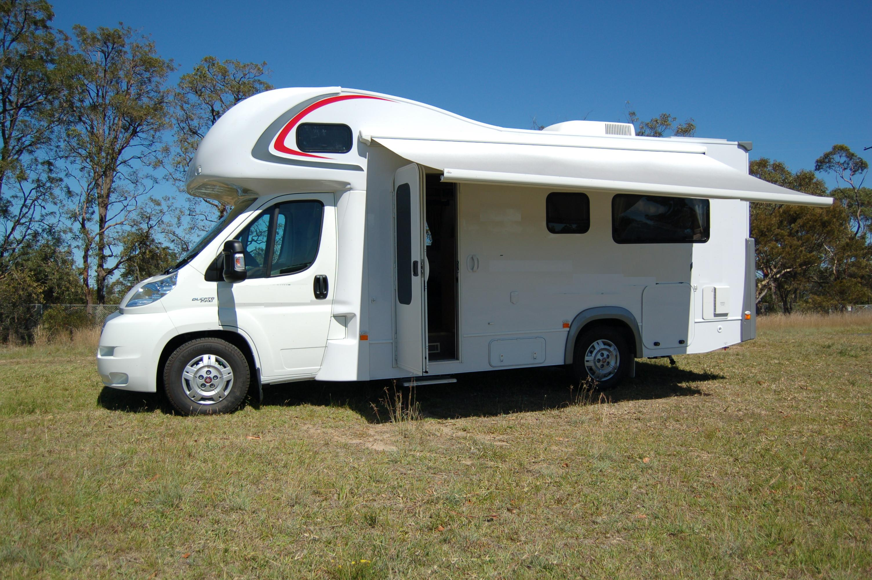 4 Berth Motorhome With Toilet And Shower