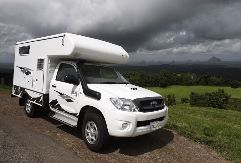 Car Rental Excess Insurance >> 4WD 2 Berth Campervan