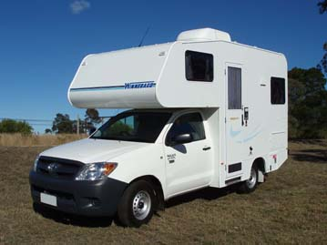 2 Person Campervan With Toilet And Shower